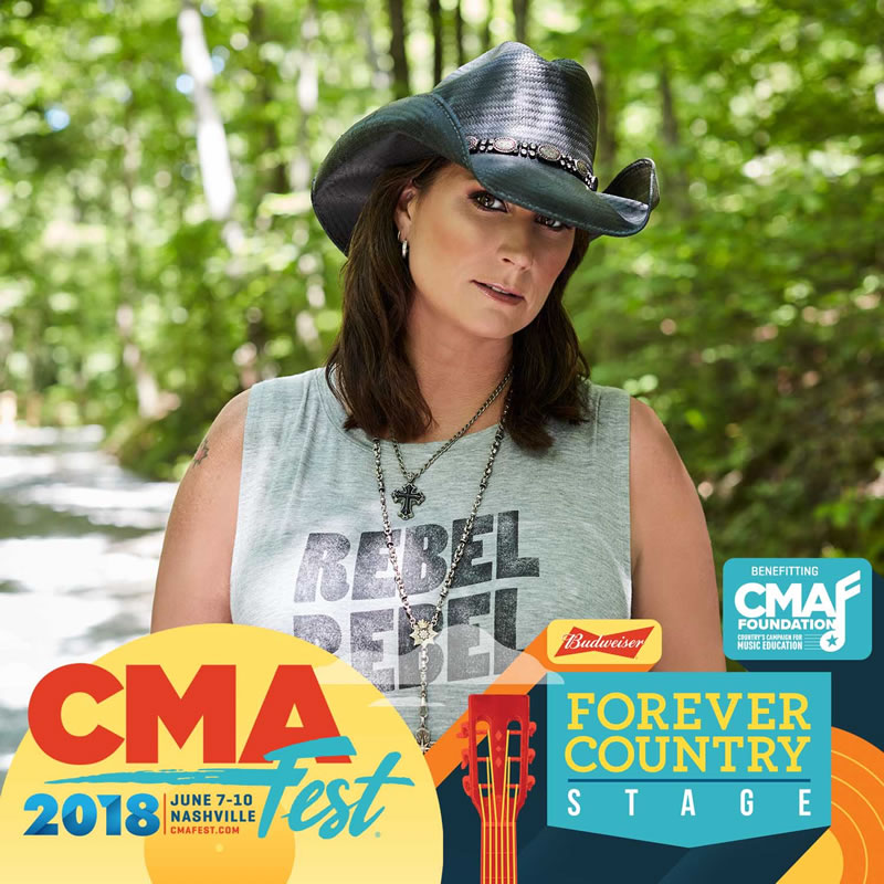 CMA Fest Country Stage