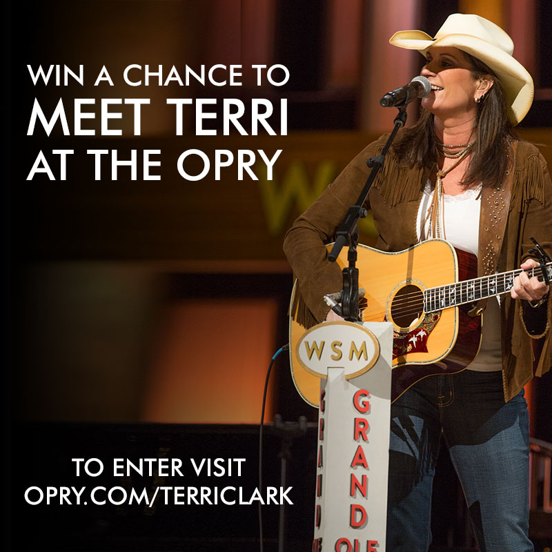 Win a chance to meet Terri at the Opry